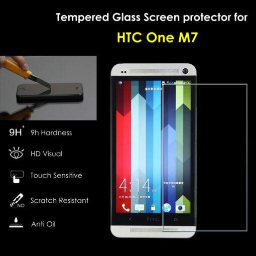 Folie Sticla HTC One M7 Tempered Glass 0.33mm Ecran Display LCD