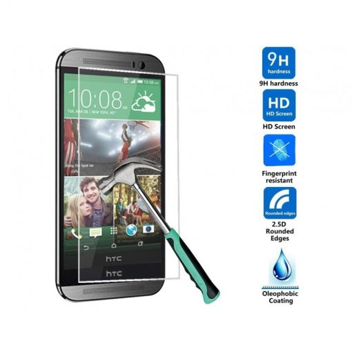 Folie Sticla HTC One M8 Tempered Glass 0.33mm Ecran Display LCD