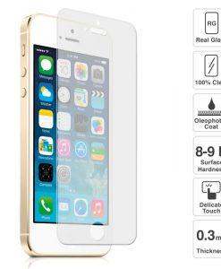 Folie Sticla iPhone 5 5S 5c Tempered Glass 0.33mm Ecran Display LCD