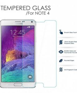 Folie Sticla Samsung Galaxy Note 4 Tempered Glass 0.33mm Ecran Display LCD