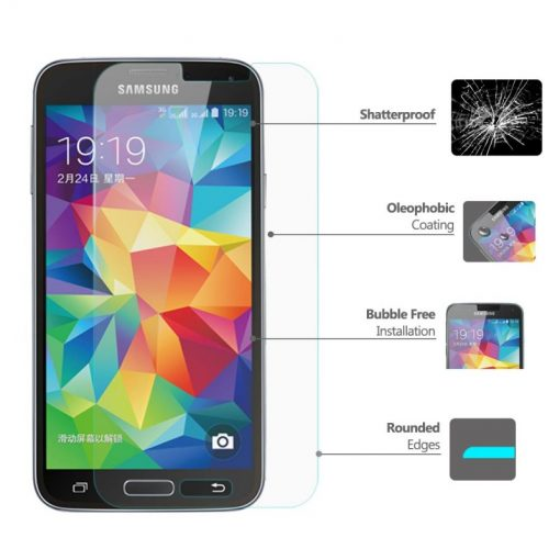 Folie Sticla Samsung Galaxy S5 Tempered Glass 0.33mm Ecran Display LCD