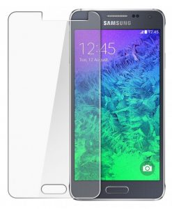 Folie Sticla Samsung Galaxy Alpha Tempered Glass 0.33mm Ecran Display LCD