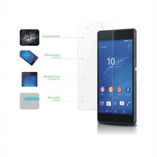 Folie Sticla Sony Xperia Z3 Tempered Glass 0.33mm Ecran Display LCD